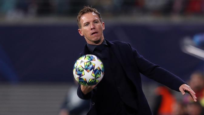 Julian Nagelsmann (RB Leipzig) - Finalis UEFA Men's Coach of the Year. (AFP/Ronny Hartmann)