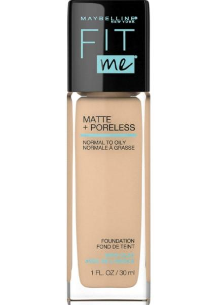 Maybelline Base de Maquillaje Fit Me Matte, 220 Natural Beige