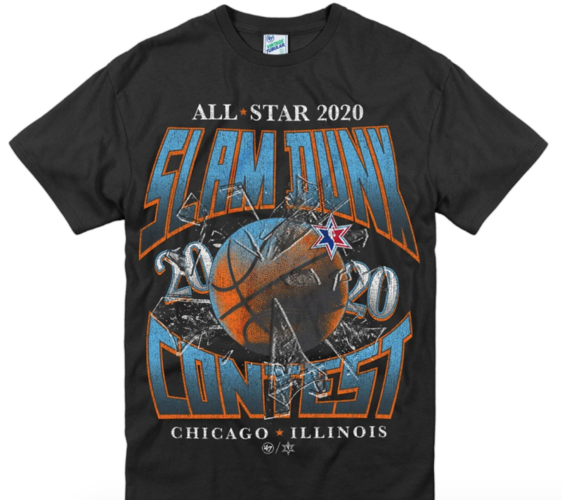 NBA All-Star Game '47 Vintage Turbular Tee