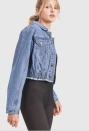"""<p><strong>Athena Denim Jacket</strong></p><p>mymonob.com</p><p><strong>$47.00</strong></p><p><a href=""""https://www.mymonob.com/products/athena-denim-jacket-mono-b"""" rel=""""nofollow noopener"""" target=""""_blank"""" data-ylk=""""slk:Shop Now"""" class=""""link rapid-noclick-resp"""">Shop Now</a></p><p>Mono B is a purveyor of comfortable and chic athleisure. The brand often partners with like-minded organizations such as <a href=""""https://www.girltrek.org/"""" rel=""""nofollow noopener"""" target=""""_blank"""" data-ylk=""""slk:GirlTrek"""" class=""""link rapid-noclick-resp"""">GirlTrek</a>, the largest public health and self-care movement for Black women. Of all their striking pieces, the <a href=""""https://www.mymonob.com/products/athena-denim-jacket-mono-b"""" rel=""""nofollow noopener"""" target=""""_blank"""" data-ylk=""""slk:Athena Denim Jacket"""" class=""""link rapid-noclick-resp"""">Athena Denim Jacket</a> stands out as comfortable without compromising style.</p>"""