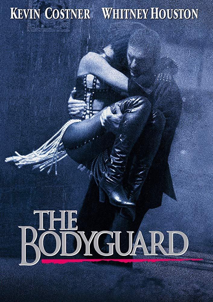 The poster for The Bodyguard