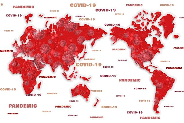 The virus has reached the majority of countries.