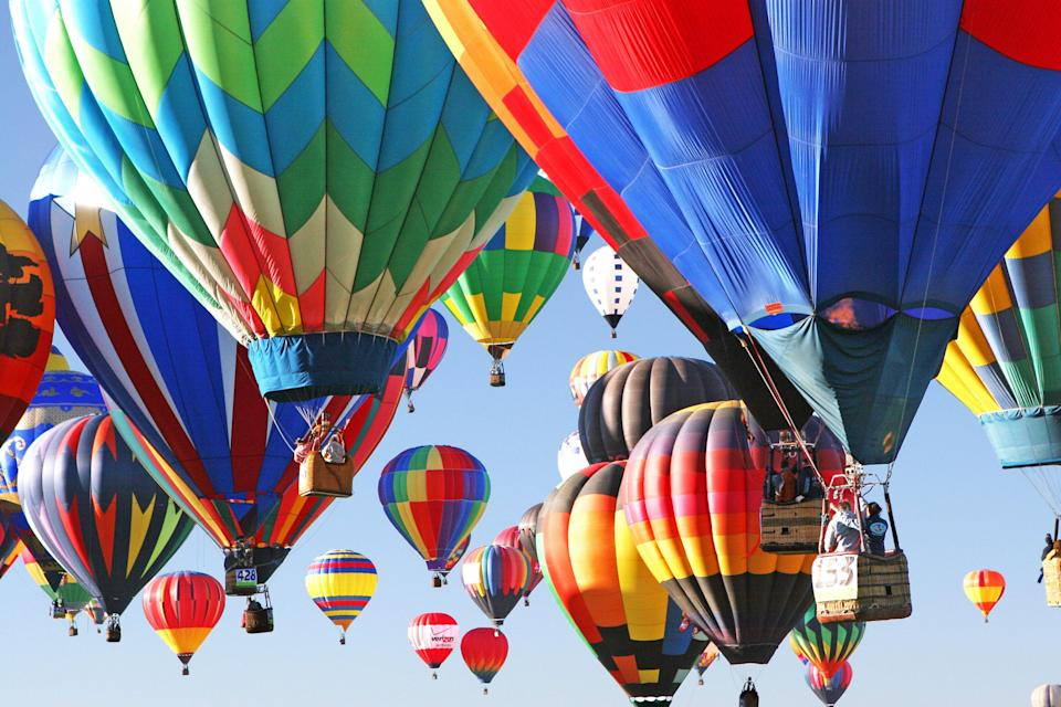 "<p><strong>Best thing to do in New Mexico:</strong> Wave to a seven-story-high Darth Vader</p> <p>Known as ""the most photographed event in the world,"" the <a href=""https://www.cntraveler.com/activities/albuquerque/albuquerque-international-balloon-fiesta?mbid=synd_yahoo_rss"" rel=""nofollow noopener"" target=""_blank"" data-ylk=""slk:Albuquerque International Balloon Fiesta"" class=""link rapid-noclick-resp"">Albuquerque International Balloon Fiesta</a> does not disappoint, offering families and travelers the chance to get up close with hundreds of seven-story balloons ranging from cute animals to Darth Vader. Editor Meredith Carey offers the following <a href=""https://www.cntraveler.com/gallery/for-albuquerques-balloon-fiesta-more-than-500-hot-air-balloons-fill-the-sky?mbid=synd_yahoo_rss"" rel=""nofollow noopener"" target=""_blank"" data-ylk=""slk:advice for travelers"" class=""link rapid-noclick-resp"">advice for travelers</a>: ""The key to making the most of the balloon festival? Waking up before dawn. Events start at 5:45 a.m., with the first balloons lighting up the still-dark sky to show other pilots what the wind conditions are like. We'd recommend leaving your hotel or Airbnb even earlier (or take an Uber), as parking lines can get hairy, even at 5:00 a.m.""</p>"