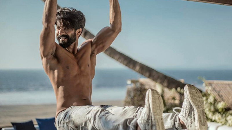 Shahid Flaunts His Chiselled Abs on the Cover of This Film Glossy
