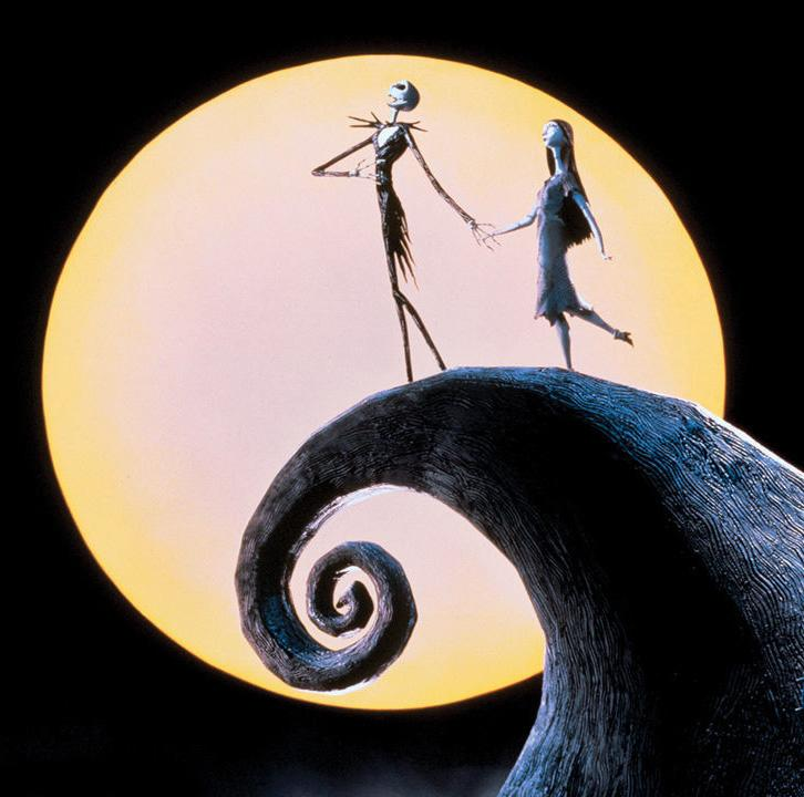 a movie still from The Nightmare Before Christmas