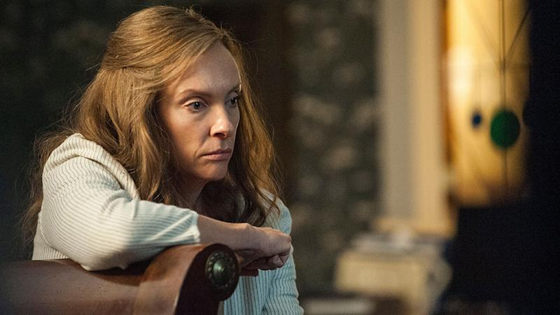 """Editorial use only. No book cover usage.Mandatory Credit: Photo by Reid Chavis/PalmStar Media/Kobal/REX/Shutterstock (9723529d)Toni Collette""""Hereditary"""" Film - 2018"""