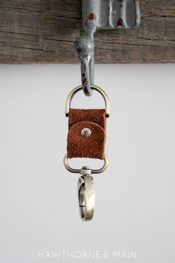 """<p>There's no way Dad will lose his keys when he has this unique keychain attached.</p><p><strong>Get the tutorial at <a href=""""https://prettyprovidence.com/simple-leather-keychain/"""" rel=""""nofollow noopener"""" target=""""_blank"""" data-ylk=""""slk:Pretty Providence"""" class=""""link rapid-noclick-resp"""">Pretty Providence</a>.</strong></p><p><strong><a class=""""link rapid-noclick-resp"""" href=""""https://www.amazon.com/REED-LEATHER-HIDES-VARIOUS-COLORS/dp/B00KJ1SDHC?tag=syn-yahoo-20&ascsubtag=%5Bartid%7C10050.g.1171%5Bsrc%7Cyahoo-us"""" rel=""""nofollow noopener"""" target=""""_blank"""" data-ylk=""""slk:SHOP LEATHER"""">SHOP LEATHER</a></strong></p>"""