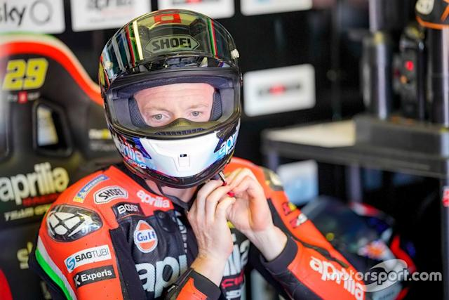"Bradley Smith, Aprilia Racing Team Gresini <span class=""copyright"">Aprilia Racing</span>"