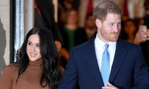Harry and Meghan call for end to structural racism in the UK
