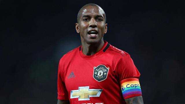 Inter have announced the signing of Ashley Young from Manchester United on a deal until the end of the season.