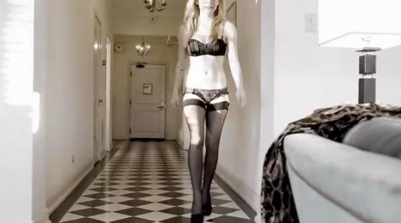 image Sexy chick in corset fucked from behind