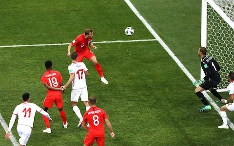 "Player ratings: who performed and who didn't? England warned to expect tough approach from Panama ​ England vs Panama, World Cup 2018: When and where in Russia is the Group G match, what time does it start and what TV channel is it on? ​ Harry Kane said he might well score three like Cristiano Ronaldo. People tittered. Instead it was just the two for the England captain as he struck the goals to gain England a precious victory in their opening Group G fixture against an obdurate, organised and occasionally cynical Tunisia. It mattered in terms of perception as well as points. These were Kane's first tournament goals and he, and England, are up and running. What a contribution from the captain. At times England wrestled with familiar failings. At times, Tunisia just wrestled and not least when it came to dealing with Kane who was dragged to the turf on at least two occasions inside the penalty area. The first probably was rightly not given, as John Stones already appeared to have committed a foul, but the second appeared a blatant penalty. Where was the video assistant referee (VAR)? After being overwhelmed at set-pieces early on the Tunisians resorted to grapple tactics which seemed to have hauled England down into a usual sense of stifling frustration especially in an increasingly drifting second-half. The Tunisians swarmed around England like the midges and mosquitoes that plagued this stadium on the banks of the River Volga and so irritated the players. Credit: GETTY IMAGES That was until injury-time when Harry Maguire, who was also being regularly man-handled, finally found some space to meet a corner and flick the ball towards the back-post where Kane had drifted free and headed home. Except it was not as simple as that. The forward could easily have sent the chance over the bar but he twisted his body, strained his neck and whipped it into the net in the tight space between goalkeeper and goal-frame. In fact both of Kane's goals came from corners. Thankfully, unlike at Euro 2016, he was not tasked with taking them. What a finish and what a finish to this match. In a city, formerly Stalingrad, where history hangs heavy, England had felt their own footballing history beginning to burden them once again after such a luminous start. Stay calm under pressure. Find a solution. They had been key messages from manager Gareth Southgate. And for once England eventually did just that. Southgate had urged England to attack the tournament, attack the World Cup. They did that also until adversity and errors struck. But they overcame them. They, hopefully, removed a mental block in doing so. How wonderful would that be? This result means that, for the first time in five tournaments, since 2006 in fact, England have won their opening game. Next up it is Panama and then Belgium and a last-16 place should now be in their grasp. The 2,000 England fans inside this stadium sang and sang at the final whistle. What a relief. Forward trio too good for Tunisia in opening 45 minutes England have to rely on corners There are issues. Defensively England remain far from assured with Ashley Young - whose place will be under threat from Danny Rose - and Maguire making some wrong decisions and the 3-5-2 under question while debate will re-open over the effectiveness of Raheem Sterling who appeared shorn of confidence after a woeful early miss and lasted barely an hour before being replaced by the far more effective Marcus Rashford while there was rich food for thought in the positive contribution of Ruben Loftus-Cheek who appears to have that bit of subtilty to unpick a packed defence. There were positives also with Kieran Trippier outstandingly creative down the right flank, Kane predatory and Jordan Henderson fully justifying his selection as the midfield anchor. Tunisia vs England shots on goal In terms of attacking intent, in terms of chances created the first-half was among England's most impressive 45 minute periods for decades - even if it was eventually let down by defensive frailty and weak finishing. England will rage about the penalty they conceded but, even before then, they should have been out of sight. Tunisia vs England shots on goal They missed chance after chance after chance and scored just once, striking the frame of the goal twice. They had to be more ruthless and it seemed they would be just that as Kane scored on 11 minutes as Stones met Young's corner with a superb leap, an even more superb header and goalkeeper Mouez Hassen somehow clawed it out. Unfortunately for him it dropped to Kane who side-foot volleyed into the net from close-range. Before that Hassen had kept Tunisia in it as he did well to divert Jesse Lingard's deflected shot away for a corner. Even so Lingard had to score and had to score when he then miscued a volley into the side-netting. Sterling, also, had to score but scuffed wide the goal beckoning while after conceding Hassen could not carry on, having already hurt his shoulder, and departed in tears. The goalkeeper had also denied Maguire, clawing away his header. Credit: GETTY IMAGES The concern began to creep and England were caught out with Kyle Walker, foolishly, throwing his arm back as he contested a cross and catching Fakhreddine Ben Youssef in the face. The forward went down, claiming the offence and the Colombian referee Wilmar Roldan pointed to the penalty spot. Ferjani Sassi took seven steps back, strolled up and stroked his right footed shot into the corner of the goal. Jordan Pickford guessed right, got a finger tip to the ball but was beaten. It was coolly executed. A sassy penalty by Sassi. England vs Tunisia Player ratings Again focus had been lost by England. But they summoned a response with Maguire's header headed out from on the goal-line and onto the bar. The rebound fell to Stones but he snatched at it and the ball rolled wide before Trippier cleverly set Lingard through and although he flicked his shot past substitute goalkeeper Farouk Ben Mustapha it struck the outside of the post. England were inexperienced of course, with nine players making their World Cup debuts, and maybe it began to show as Tunisia defended ever deeper and were determined to hold on by any means they could. Time was running out but that was until Kane intervened. Ronaldo had scored those three goals for Portugal against Spain last week and Kane said he fancied vying for 'The Golden Boot' as the World Cup top-scorer. Good for him. Good for England. 10:45PM Harry Maguire reaction Huge win. What a feeling �������������������� @Englandpic.twitter.com/nF6XWXpaGi— Harry Maguire (@HarryMaguire93) June 18, 2018 10:31PM Sam Wallace on Gareth Southgate Of everything Southgate has done with this England team - encouraging them to take risks, to ignore the usual fears and hang-ups - his autumn change to a 3-5-2 formation once qualification was over was fundamental to the whole plan. Read more in Sam Wallace's article here. 10:31PM To be honest, I'm not surprised Interesting stat after #TUNENG. Second lowest of all games so far, for Actual Playing Time. Just 49'38"". pic.twitter.com/xRZWwv6vC1— Alex Stone (@AlexStone7) June 18, 2018 9:39PM Kane scored two goals despite eating midges ""There were a lot more than we thought. We had a lot of bug spray on, before the game, and at half-time. I got some (flies) in the eye, some in my mouth."" Bluuuuuurgh. 9:38PM Great news I am. https://t.co/5V9Xf7uidT— David Baddiel (@Baddiel) June 18, 2018 9:37PM Reaction Harry Kane meanwhile did what everyone kept telling him he needs to do: kept his nerve, saved his team, made a statement to the other leading strikers out here.— Paul Hayward (@_PaulHayward) June 18, 2018 THE LIMBS. LOOK AT THE LIMBS. CANCEL CLUB FOOTBALL LETS DO THIS 365 DAYS A YEAR https://t.co/KcQShfn63D— Eli (@ElMengem) June 18, 2018 ""I know the pubs would have been erupting back home. I was that kid watching in the pubs before, I know what that's like"" Hero @HKane sums up what it means to score the winner Watch the World Cup LIVE on @ITV#ENG#TUNENG#ThreeLionspic.twitter.com/gpESSQ9fUk— ITV Football (@itvfootball) June 18, 2018 9:33PM A bit of analysis Fascinating match. I've not seen an England team so confident, calm in possession and adept at building play from the back who don't also revert to type in the final few moments and throw on 18 strikers to hump the ball long to. Southgate's team built from the back and stayed patient. It moves the opposition around, makes them work hard and as soon as Rashford and Loftus-Cheek injected a bit of forward-thinking and pace to that second half, the movement and forward passing really caused problems. The other thing to commend Southgate for is his clear focus on set pieces. Maguire was brilliant as a target in the box and had it not been for the intervening hands and wrestling skills of Tunisia's defence, England would probably have scored more. Henderson was superb as a six, holding the line between the wing-backs during build-up and rarely roaming from his position. On the times he did attack, Alli and Lingard knew to watch the midfield and dropped back to maintain the shape. This is a well drilled, organised and disciplined England and the benefit of that is the forwards can have way more fun, able to rely on a solid base further back. 9:25PM Kane with his MOTM trophy Credit: FIFA I'm pretty sure there's no beer inside it. 9:23PM What a find this is 1: John Barnes vs Ireland in 1990 2: Harry Maguire vs Tunisia There's only one way to beat them Get round the back pic.twitter.com/mTTLwlxLE3— Duncan Alexander (@oilysailor) June 18, 2018 9:22PM England fans going nuts England fans going nuts after Harry Kane's late goal! #ENG#WorldCuppic.twitter.com/vltfWN7Wc0— COPA90 (@COPA90) June 18, 2018 9:21PM Kyle Walker I think the entire squad is going to a press interview at this rate. Here's Walker: ""It shows the work we've put in, believing in ourselves, the system, got the goal which always feels better in the later stages. ""I think in the Premier League probably would have got away with it. Trips gave us a shout to leave it so I just tried to shield the ball. ""We created a lot of chances but we're not the finished article. There's two more important games we need to go and pick up points now. ""I'm not a big talker, I know everyone likes to have their own thoughts but I said I'll run. ""It's good. It's a pat on the back for us but there's two important games. We just prepare well and hopefully the points will come."" 9:17PM Southgate says ""I think the way we kept playing even though the clock was running down, we waited for good opportunities and I think we deserved the win. We had total control of the game second half, strong on set plays all night. Even had we drawn, which would have made life difficult, I would have been proud of the performance. ""We'll do well to make as many chances in a game in this tournament. The movement, the control from the back with the ball. Good teams score goals and [keeping the ball helped tire Tunisia]. ""The squad have been brilliant, the team selection was so difficult and to bring the substitutes on and them make the impact they did, everyone's worked so hard to come together. ""We've given ourselves a great platform to build from, in particular the level of performance but there's a lot of work to do still. Panama will be a tough test in a different way. We can enjoy tonight, I hope everyone at home enjoys tonight. ""He's a top, top striker and I'm delighted for him. It's great we've got him in the team, he took his goals very well."" 9:11PM Harry Maguire with less of a 'by numbers' interview ""We thought the penalty was a bit soft. ""We stuck to our shape and knew we'd get the next goal. ""It was tough out there, really warm, started well but missed clearcut chances which you don't get at this level very often. ""We knew we'd get more but they changed the shape to match us to a three, more like a five. ""It was as much a penalty as what they got. He's always going to get that chance, he's going to be a huge player for us. ""There were a couple of nervy passes in the first. It's a big occasion, my first game at this high pressure, you've got to focus, concentrate and I felt I grew into the game. ""It's a massive three points but it's only three points and we've got another big game coming up."" 9:07PM Player ratings Who stood out for you? Here's our verdict: England vs Tunisia Player ratings 9:06PM Matt Law's verdict England 2-1 Tunisia 