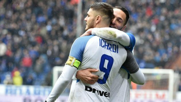 <p>Sampdoria 0 Inter 5: Four-goal Icardi demolishes former side</p>