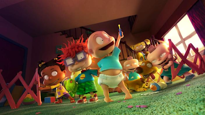The Rugrats are crawling back to your screen (PA)
