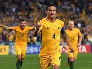 Australian football chiefs were forced to deny that veteran Tim Cahill was in the country's World Cup squad for commercial reasons after in-form Hibernian striker Jamie Maclaren was axed.