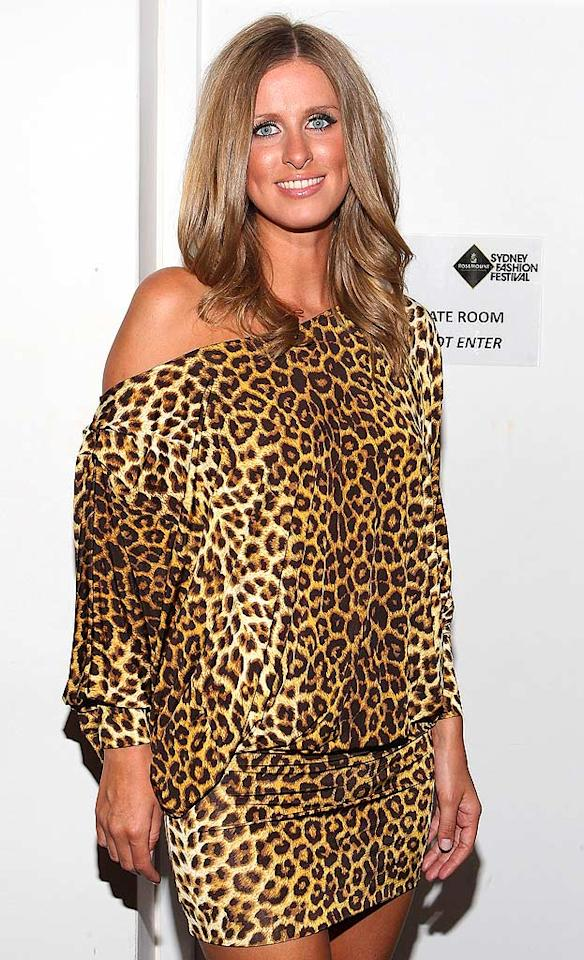 "This fall, animal prints will be hot. Nicky Hilton in the trendy motif ... not. Lucas Dawson/<a href=""http://www.gettyimages.com/"" target=""new"">GettyImages.com</a> - August 21, 2010"