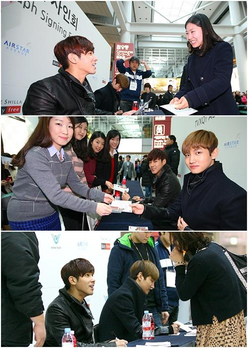 TVXQ, signing event for fans