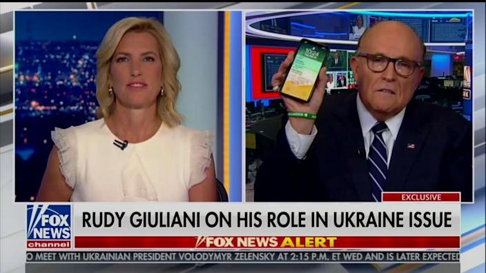 Rudy Giuliani Fox News