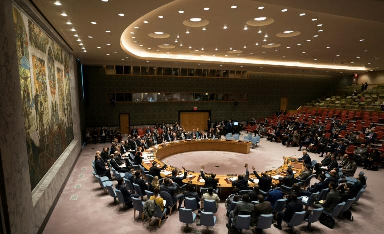 Members of the UN Security Council voted unanimously on a resolution demanding a 30-day ceasefire in Syria