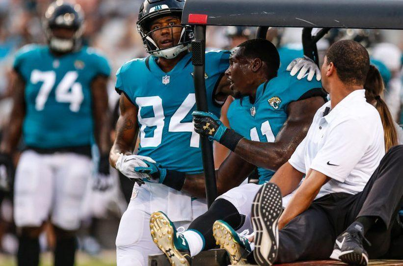 2d745b67 Jaguars preparing to open the season without Marqise Lee, Cam Robinson
