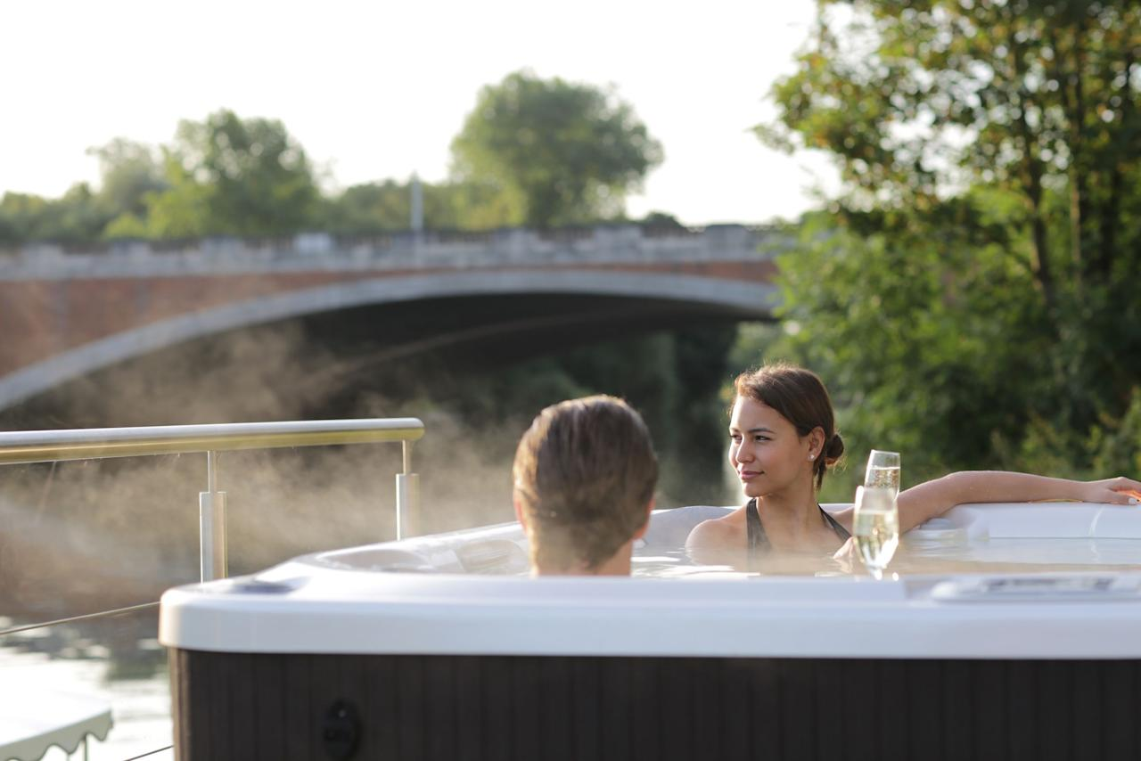 The most romantic hot tub breaks for two