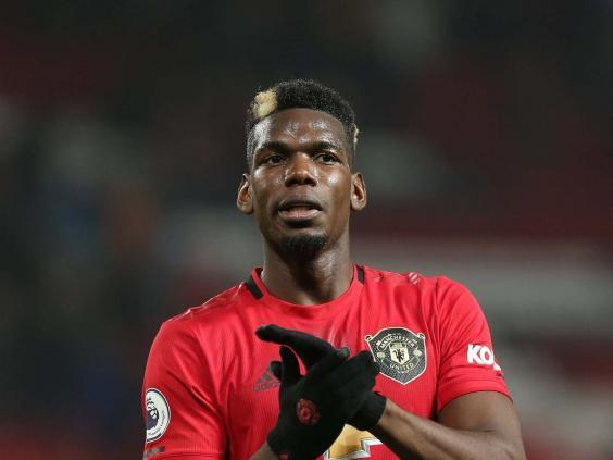 Paul Pogba of Manchester United (Manchester United via Getty Images)