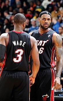 LeBron James' decision to join Dwyane Wade in Miami ranked as the NBA's biggest story