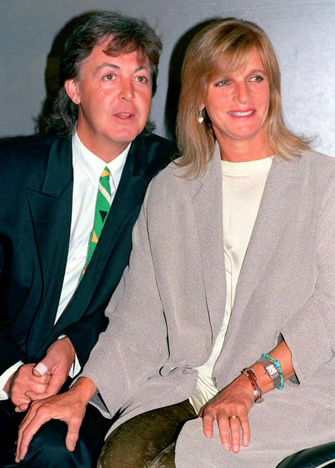 """Maybe I'm Amazed"" was Paul McCartney's tribute to his wife, Linda."