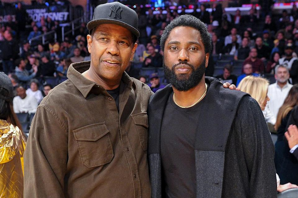 """<p>Opening about his famous father, John David told <a href=""""https://people.com/movies/john-david-washington-reveals-how-he-is-inspired-by-his-parents-denzel-and-pauletta/"""" rel=""""nofollow noopener"""" target=""""_blank"""" data-ylk=""""slk:PEOPLE"""" class=""""link rapid-noclick-resp"""">PEOPLE</a> the Oscar winner is """"my favorite actor.""""</p> <p>""""I think the best actor in the industry, in the business, is my father,"""" the <em>Tenet</em> star said of his dad.</p> <p>""""I'm inspired by the kind of career he's had and what he's had to do. Again, he's been on the frontline for many years and what he's done with it, with his opportunities, I just am so inspired and continue to be inspired by what he does and how he works and his approach to the craft and the business.""""</p>"""