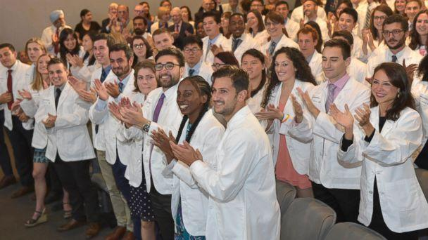 PHOTO: New York University's School of Medicine announces it is offering full-tuition scholarships to all current and future students in its MD degree program, regardless of need or merit, Aug. 16, 2018. (NYU School of Medicine)