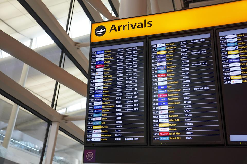 Terminal 2 at Heathrow Airport (PA) (PA Wire)