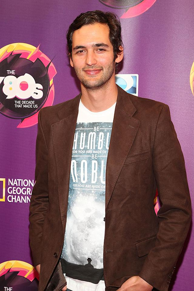 "Jason Silva attends Nat Geo's ""The '80s: The Decade That Made Us"" New York Premiere at Culture Club on April 9, 2013 in New York City."