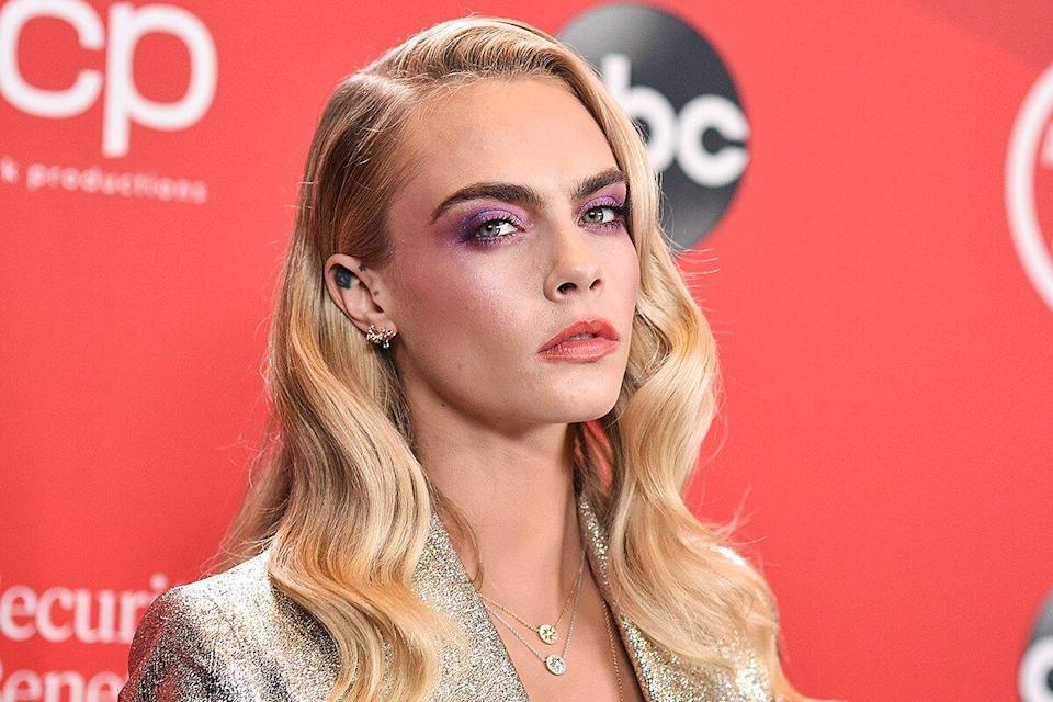 """CARA DELEVINGNE- """"The 2020 American Music Awards"""", hosted by Taraji P. Henson aired from the Microsoft Theater in Los Angeles, SUNDAY, NOV. 22"""