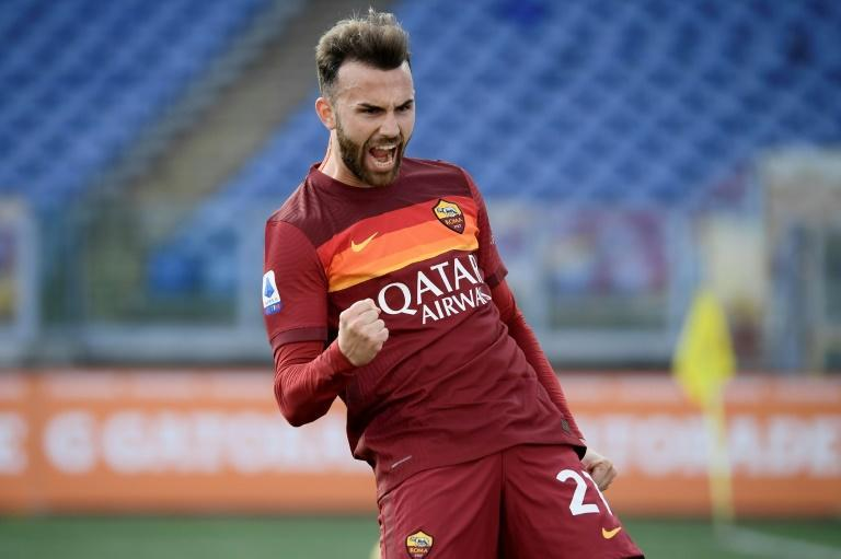 Roma's Spanish forward Borja Mayoral scored and set up another against Hellas Verona.