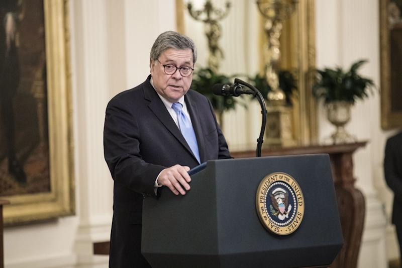 Sarah Huckabee Sanders: Donald Trump will let William Barr do his job