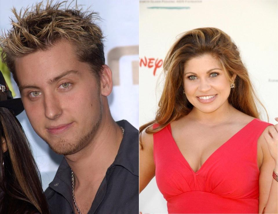 Lance Bass Danielle Fishell It Couples From the 90s