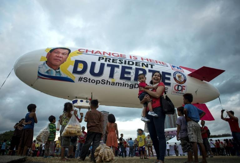 Philippine President Rodrigo Duterte's war on drugs has proved popular at home but faces international criticism