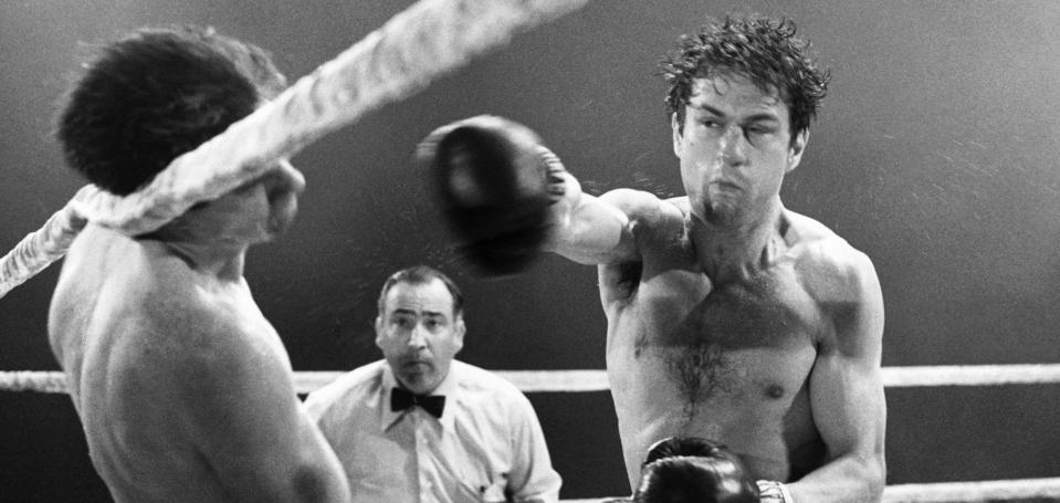 Robert De Niro as Jake LaMotta in 'Raging Bull' (Photo: United Artists/ Courtesy: Everett Collection)