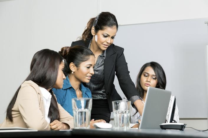 Open communication among female colleagues is essential to build a strong work culture. (File photo)