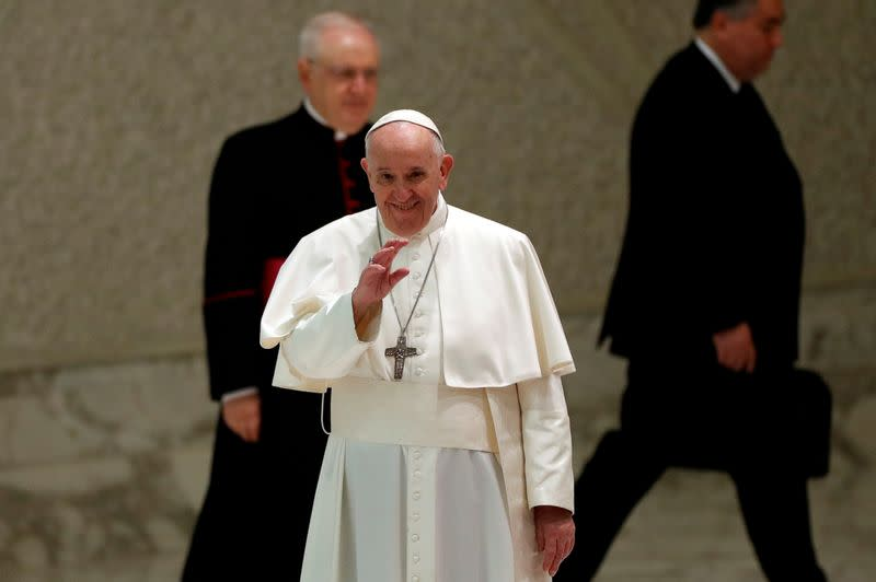 FILE PHOTO: The weekly general audience at the Vatican
