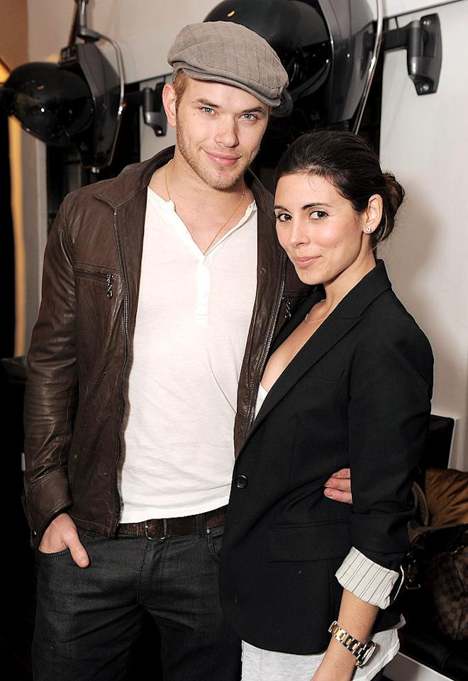 """""""Twilight"""" stud Kellan Lutz and the newly single Jamie-Lynn Sigler are among the celebs who mingled at the opening of Nine Zero One Salon in Hollywood. Don't get any ideas about these two, though, because Kellan's reportedly still dating """"90210's"""" AnnaLynne McCord. Jordan Strauss/<a href=""""http://www.wireimage.com"""" target=""""new"""">WireImage.com</a> - February 22, 2010"""