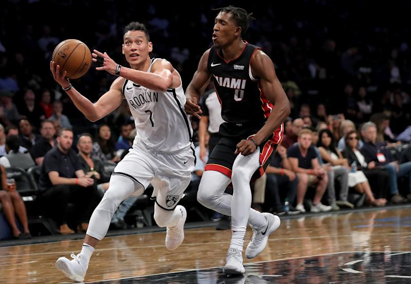 Jeremy Lin was traded from the Brooklyn Nets to the Atlanta Hawks on Thursday night. More