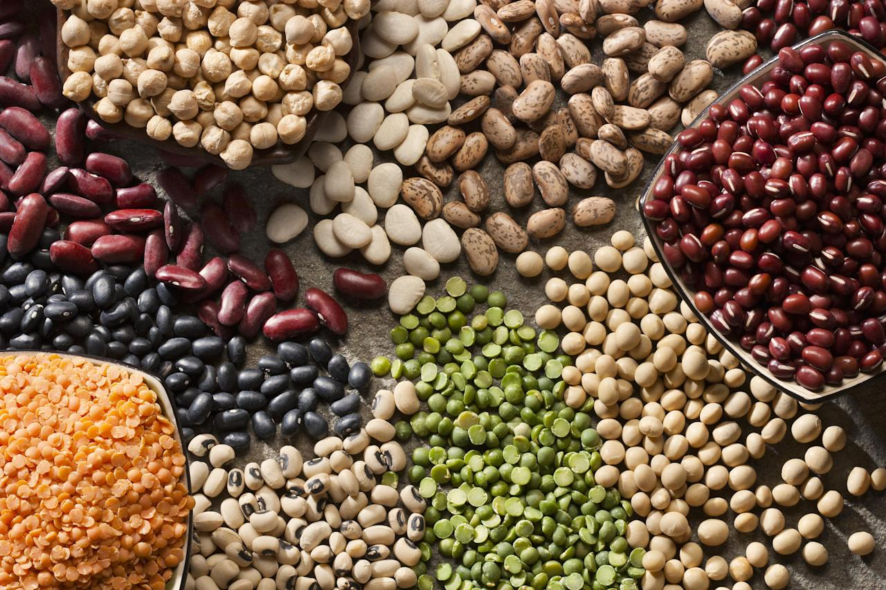 """<p>Beans and lentils are a versatile and delicious source of plant-based protein — but most importantly, they're full of iron. <a href=""""https://www.thedailymeal.com/healthy-eating/most-common-nutrient-deficiency-america?referrer=yahoo&category=beauty_food&include_utm=1&utm_medium=referral&utm_source=yahoo&utm_campaign=feed"""">Iron deficiency</a> is most commonly seen in women who are menstruating or pregnant, and not getting enough can lead to iron-deficiency anemia, which causes fatigue and shortness of breath. If you can't find dried beans, the canned varieties are inexpensive and can be quick meal-starters.</p>"""