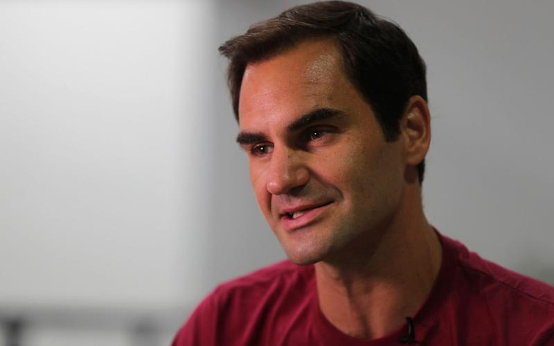 Roger Federer has come under fire for his sponsorship deal with Credit Suisse - AP