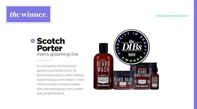 <p>It's no surprise this brand has gained a cult following for its grooming products, which address everything guys care about — from shaving creams to beard combs. An added plus: The packaging is simple and straightforward. (Art by Quinn Lemmers for Yahoo Lifestyle) </p>
