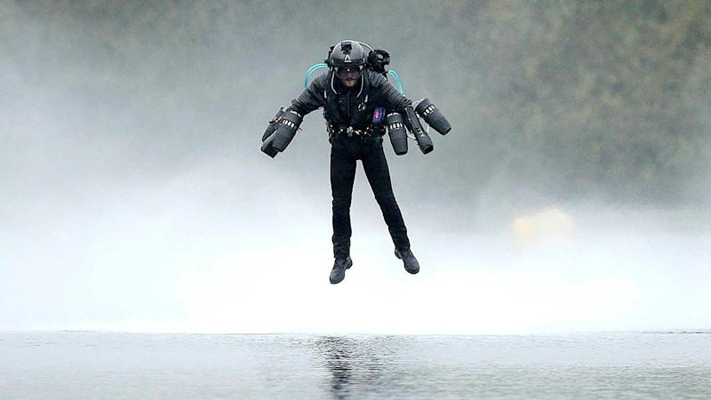 Man Sets Record for Fastest Speed in a Jet Pack: 'This Is Just the Beginning'