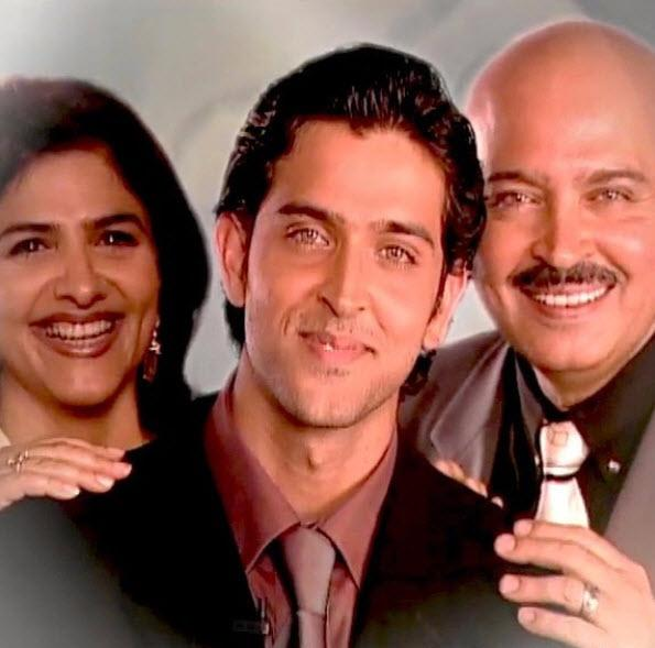 hrithik, rakesh and pinkie roshan