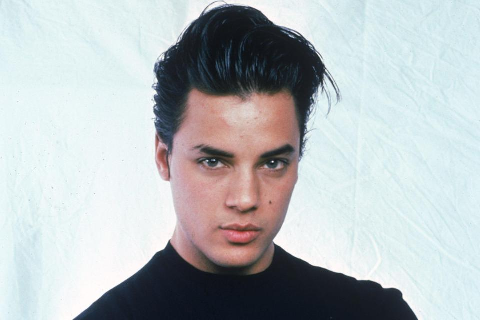 <p>Nick Kamen starred in an iconic Levi's advert in the 80s</p> (Getty Images)