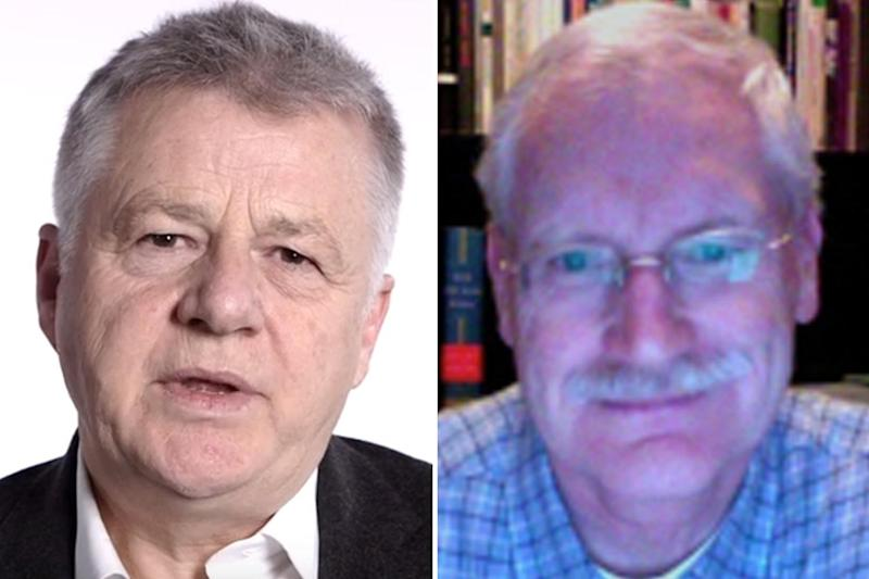 Part of winning trio: UCL's Ray Dolan, left, and Cambridge's Wolfram Schultz