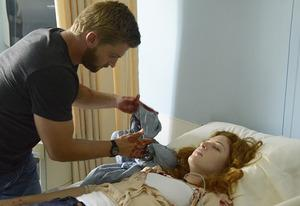 Mike Vogel and Rachelle Lefevre | Photo Credits: Brownie Harris/CBS